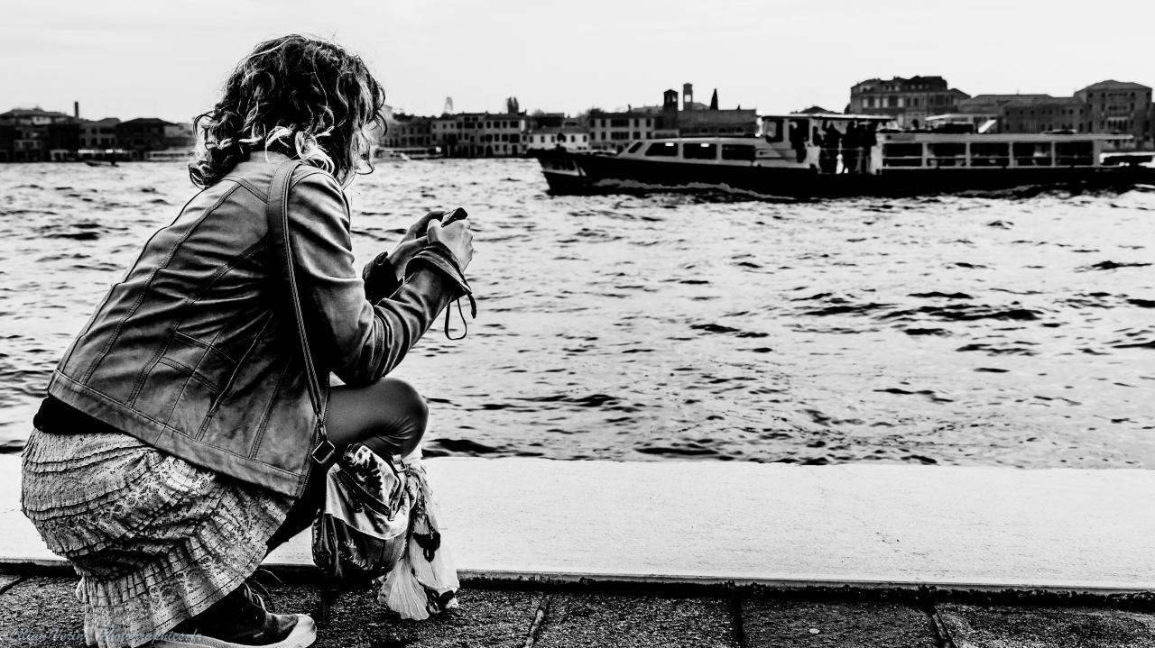 Venise noir et blanc (2)
