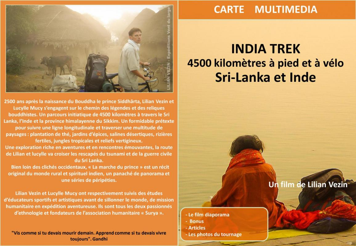 Carte multimedia india trek